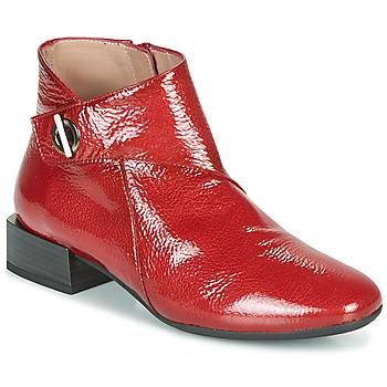 Hispanitas Kotníkové boty ANETO - Červená