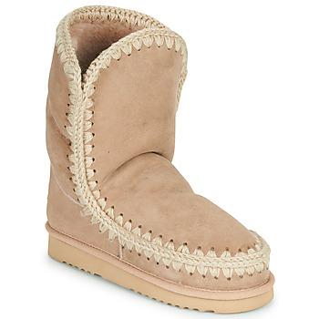 Boty Ženy Kotníkové boty Mou ESKIMO 24 Béžová