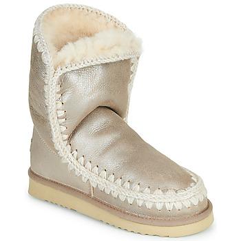 Boty Ženy Kotníkové boty Mou ESKIMO 24 Zlatá