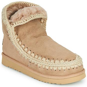 Boty Ženy Kotníkové boty Mou ESKIMO 18 Béžová