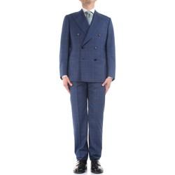 Textil Muži Obleky Cesare Attolini S20WA30 B12 Modrá
