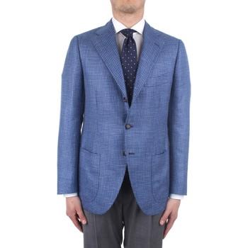 Textil Muži Saka / Blejzry Cesare Attolini S20MA43 Modrá
