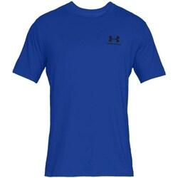 Textil Muži Trička s krátkým rukávem Under Armour Sportstyle Left Chest Modré
