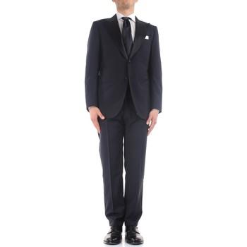Textil Muži Obleky Kiton K06S79/05 Modrá