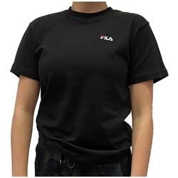 Textil Ženy Trička s krátkým rukávem Fila Eara Tee Černé