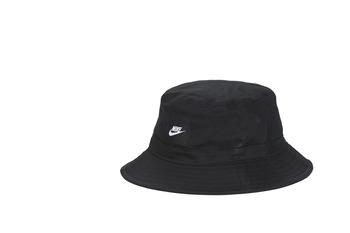 Textilní doplňky Čepice Nike U NSW BUCKET CORE Černá