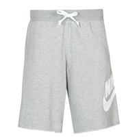 Textil Muži Kraťasy / Bermudy Nike M NSW SCE SHORT FT ALUMNI Šedá