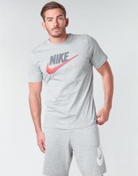 Textil Muži Trička s krátkým rukávem Nike M NSW TEE BRAND MARK Šedá