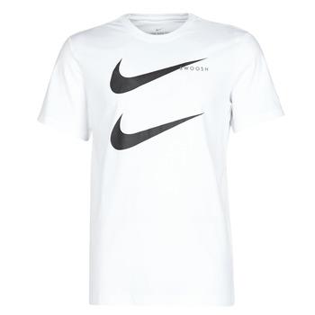 Textil Muži Trička s krátkým rukávem Nike M NSW SS TEE SWOOSH PK 2 Bílá