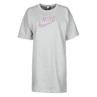 Textil Ženy Krátké šaty Nike W NSW DRESS FT M2Z Šedá