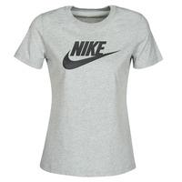 Textil Ženy Trička s krátkým rukávem Nike W NSW TEE ESSNTL ICON FUTUR Šedá