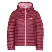 Textil Ženy Prošívané bundy Nike W NSW WR LT WT DWN JKT Bordó