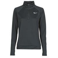Textil Ženy Trička s dlouhými rukávy Nike W NK PACER HZ Černá