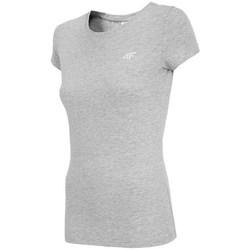 Textil Ženy Trička s krátkým rukávem 4F TSD001 Šedé