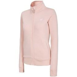 Textil Ženy Mikiny 4F BLD003 Růžové