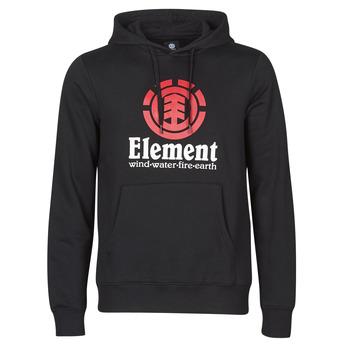 Textil Muži Mikiny Element VERTICAL HOOD Černá
