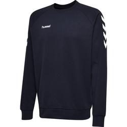 Textil Muži Mikiny Hummel Sweatshirt  hmlGO cotton bleu marine
