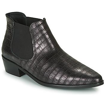 Boty Ženy Kotníkové boty Fericelli NANARUM Černá / Stříbrná