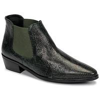 Boty Ženy Kotníkové boty Fericelli NANARUM Černá / Zelená