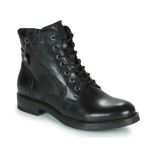 Boty Ženy Kotníkové boty Casual Attitude NUNAISE Černá