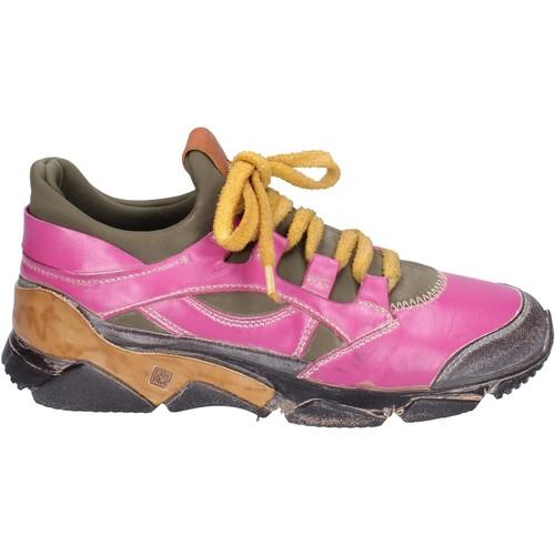 Boty Ženy Nízké tenisky Moma Tenisky BM547 Růžový