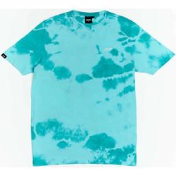 Textil Chlapecké Trička s krátkým rukávem Wrung T-shirt  New Sign bleu turquoise/blanc/noir