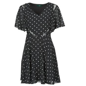 Textil Ženy Krátké šaty Guess ELLA DRESS Černá / Bílá