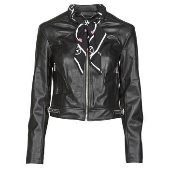 Textil Ženy Kožené bundy / imitace kůže Guess NEW JONE JACKET Černá