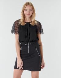 Textil Ženy Halenky / Blůzy Guess GERDA Černá
