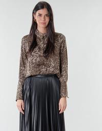 Textil Ženy Halenky / Blůzy Guess VIVIAN Béžová
