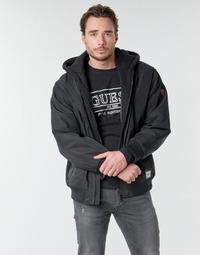 Textil Muži Bundy Guess NAUGHTY BOMBER Černá