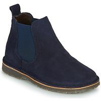 Boty Dívčí Kotníkové boty Citrouille et Compagnie HOVETTE Tmavě modrá