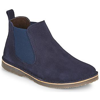 Boty Chlapecké Kotníkové boty Citrouille et Compagnie HOVETTE Tmavě modrá