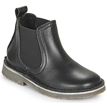 Boty Děti Kotníkové boty Citrouille et Compagnie HOVETTE Černá