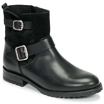 Boty Dívčí Kotníkové boty Citrouille et Compagnie NIVOLE Černá