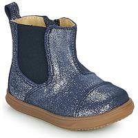 Boty Dívčí Kotníkové boty Citrouille et Compagnie FEPOL Tmavě modrá