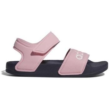 Boty Dívčí Sandály adidas Originals Adilette Sandal Růžové