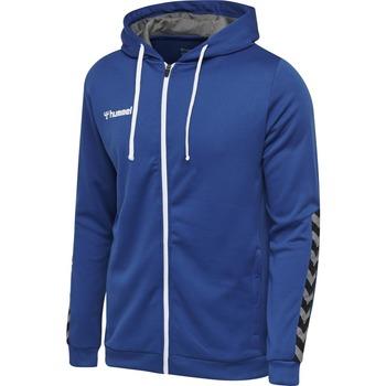 Textil Děti Mikiny Hummel Sweatshirt enfant  zip hmlAUTHENTIC Poly bleu