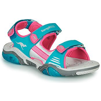 Boty Děti Sportovní sandály Kangaroos Sandalshine Modrá / Růžová