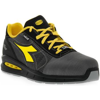Boty Muži bezpečnostní obuv Diadora UTILITY RUN NET AIRBOX Grigio