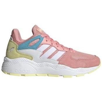 Boty Dívčí Nízké tenisky adidas Originals Crazychaos J Bílé,Béžové,Růžové