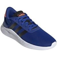Boty Chlapecké Běžecké / Krosové boty adidas Originals Lite Racer Bílé, Modré, Oranžové