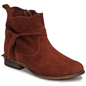 Boty Ženy Kotníkové boty Betty London NENESS Cihlová