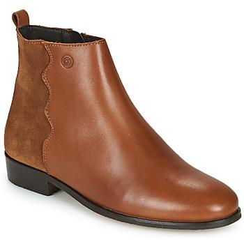 Boty Ženy Kotníkové boty Betty London HELOI Velbloudí hnědá