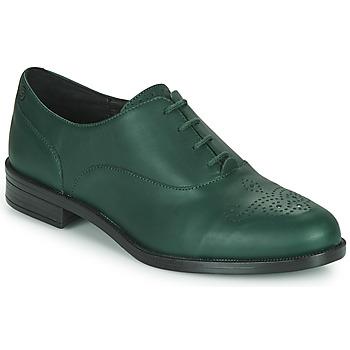 Boty Ženy Šněrovací společenská obuv Betty London NADIE Zelená
