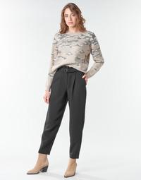 Textil Ženy Tříčtvrteční kalhoty Vila VICHARLOTTE Černá