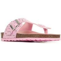 Boty Dívčí Žabky Kickers Summeriza Růžová
