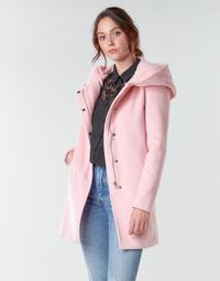 Textil Ženy Kabáty Moony Mood NANTE Růžová