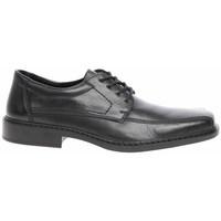Boty Muži Šněrovací polobotky  & Šněrovací společenská obuv Rieker B081200 Černé