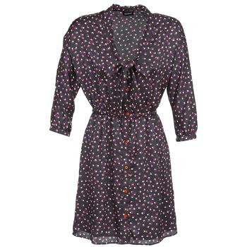 Textil Ženy Krátké šaty Kookaï IXIMALE Černá / Fialová